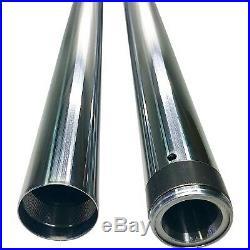 Pro One 105120 Chrome 49 MM 25.50 Length Fork Tube Pair Harley Dyna FXD 06-17