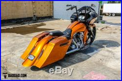 Pro One 105130 Chrome 49 MM 27.50 Length Fork Tube Pair Harley Dyna FXD 06-17