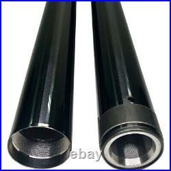 Pro-One Black Diamond 49MM Fork Tube Pair 24.875 Length Harley Touring 14-21