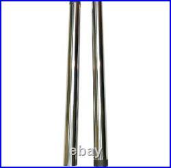 Pro-One Hard Chrome 49MM Fork Tube Pair 22.875 Length Harley Touring 14-21