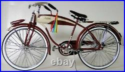 Rare Vintage Bicycle 1950s Boys Bike Cycle Metal Model Length 11.5 Inches