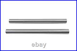 Raw Machined Steel 41mm Fork Tube Set with 20 Total Length fits Harley-Davidson