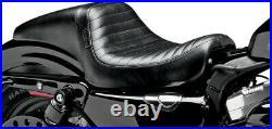 Seat daytona full-length pleated black HARLEY DAVIDSON XL SPORTSTER ABS CUS