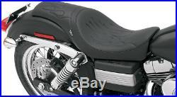 Seat predator front full length vinyl black HARLEY DAVIDSON DYNA BOB ABS GL