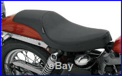 Seat predator front full length vinyl black HARLEY DAVIDSON SPORTSTER XLCH