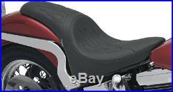 Seat predator rear full length vinyl black HARLEY DAVIDSON SOFTAIL HERITAGE