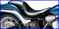 Seat silhouette smooth full-length with biker gel HARLEY DAVIDSON FAT BOY A