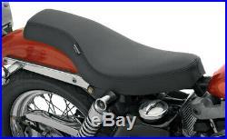 Seat spoon-style rear full length vinyl black HARLEY DAVIDSON SPORTSTER XLC