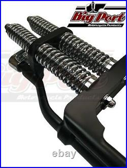Springer Forks Harley Bobber Chopper STD Stock Length Black Big Port Classic
