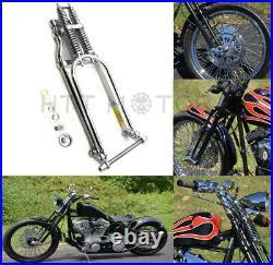Springer Front End +2 Length For Harley Sportster Bobber Chopper Chrome Arched