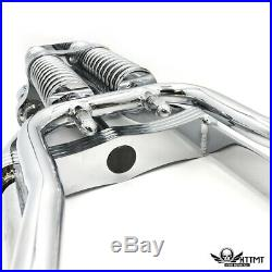 Springer Front End +2 Length with Handlebar Adapter For Harley Sportster Bobber C