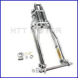 Springer Front End +4 Over Stock Length Wishbone For Harley & Custom Bike New