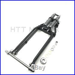Stock Length 22 Black Springer Front End For Harley Sportster Chopper Softail A