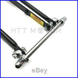 Stock Length 22 Black Springer Front End For Harley Sportster Chopper Softail D