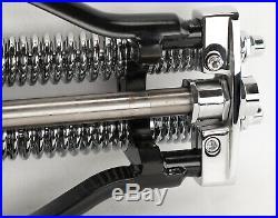 Stock Length 22 Black Springer Front End Harley Sportster Chopper Softail Dyna