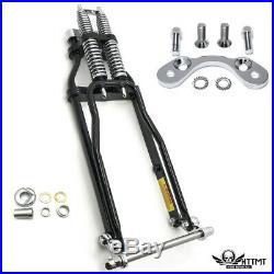 Stock Length 22 Springer Front End Handlebar Adapter For Harley Chopper Softail
