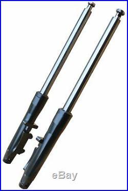 Ultima 117-256 Black Billet 41mm Forks with +12 length for 84-99 Harley Softail
