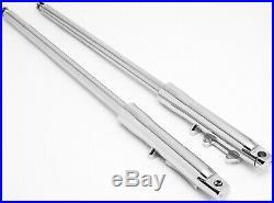 Ultima Billet Chrome 41mm +6 Stock Length Forks'84 Later Harley Style 117-163