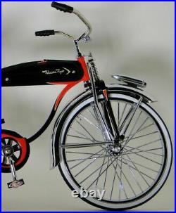 Western Flyer Vintage Bicycle 1950s Bike Cycle Metal Model Length 12 Inches